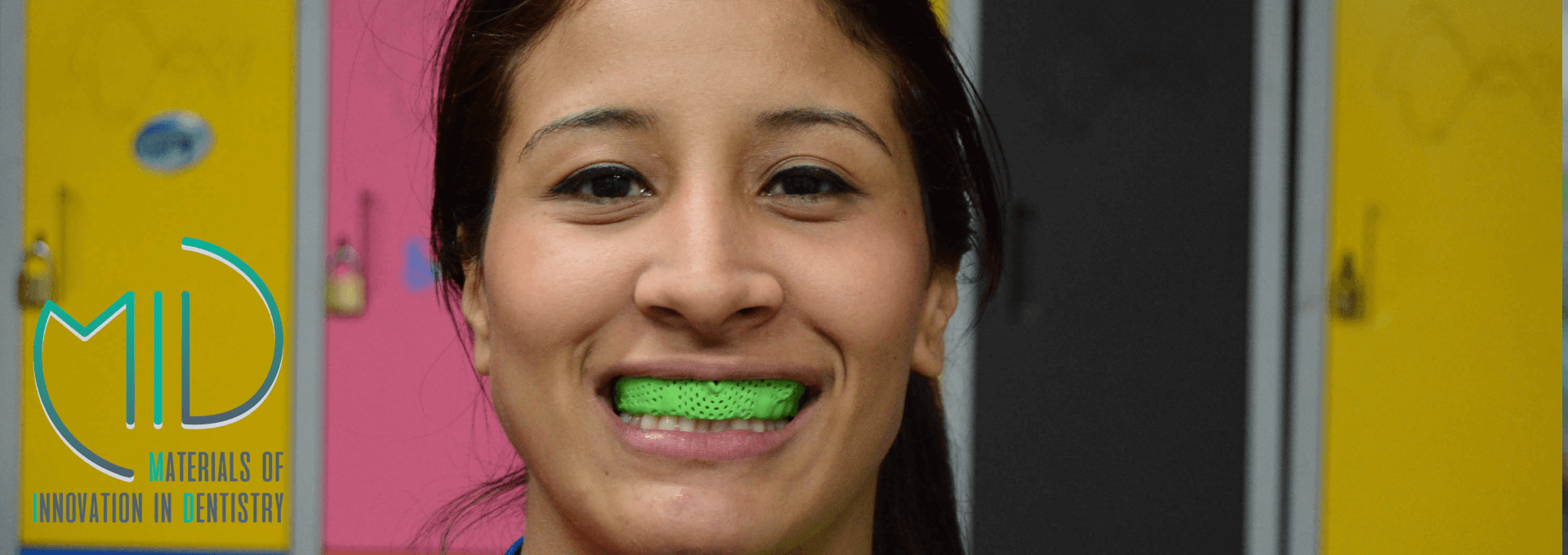Female Rugby Athletes with our mouth guards